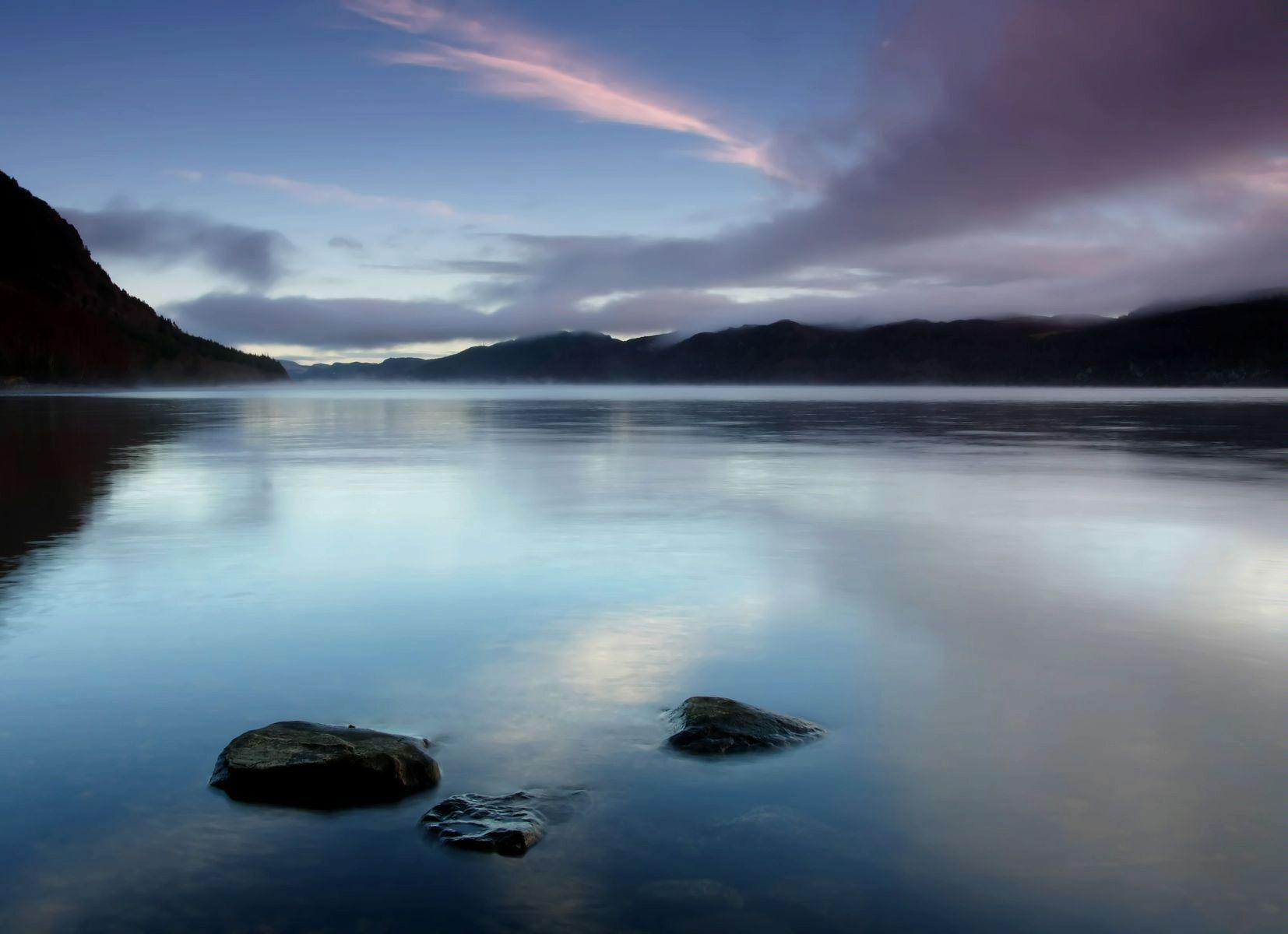 Шотландия. Озеро Лох-Несс