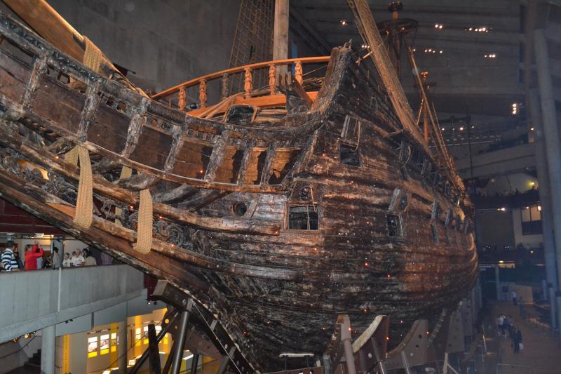 Стокгольм - затонувший корабль Vassa