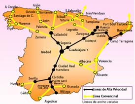 Схема основных маршрутов
