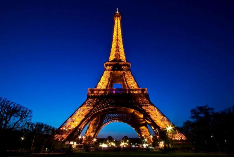 Париж ночной