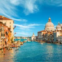 Венеция, Гранд-канал и Базилика Санта-Мария-делла-Салюте