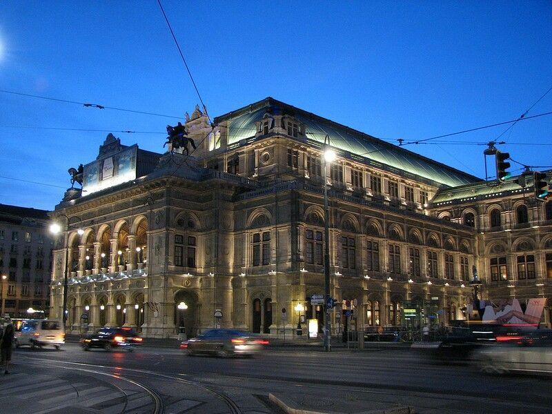 Вена. Опера
