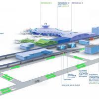 Новая схема движения на привокзальной площади в аэропорту Внуково