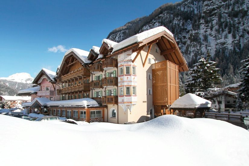 Внешний вид. SOREGHES GRAN CHALET (UNION HOTELS) 4* Super