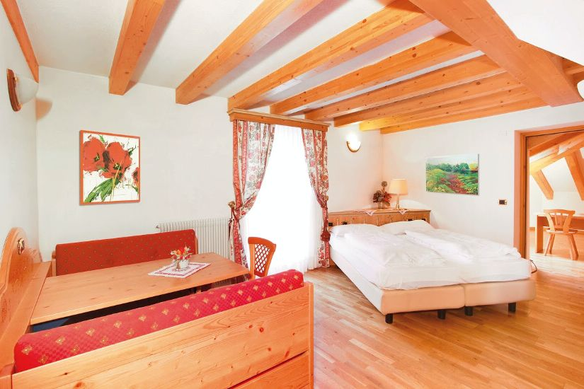 Prestige Room. SOREGHES GRAN CHALET (UNION HOTELS) 4* Super