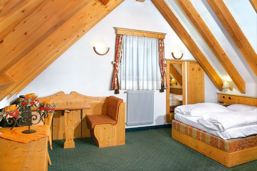 Classic Room. SOREGHES GRAN CHALET (UNION HOTELS) 4* Super