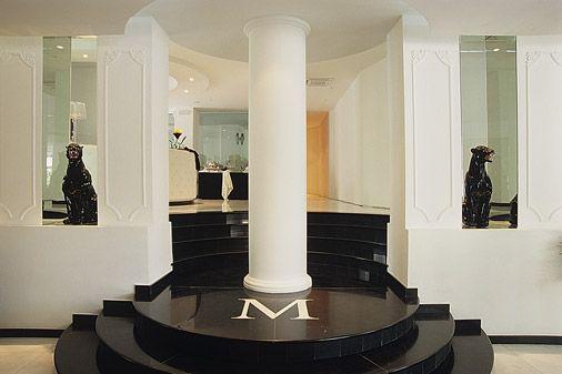 Интерьер. M GLAMOUR HOTEL 4*