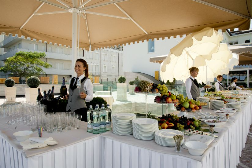 Рестораны/бары. GRAND HOTEL DA VINCI 5*
