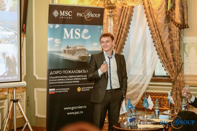 Руководитель департамента Круизов PAC GROUP Михаил Фельдман