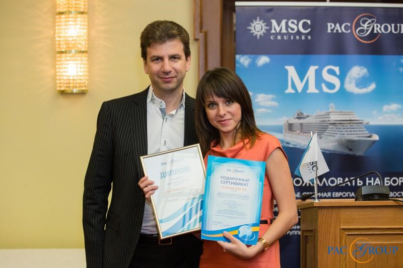 PAC GROUP и MSC Cruises провели серию круизных презентаций в рамках Road Show в Москве