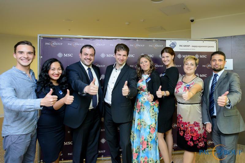 PAC GROUP и MSC Cruises провели серию круизных презентаций в рамках Road Show в Сочи