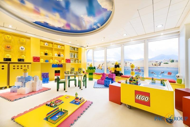 Тематическая игровая комната LEGO