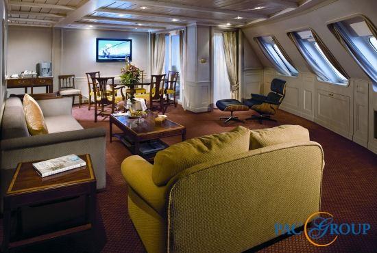 Приглашаем посетить лайнер круизной компании Silversea – Silver Wind!