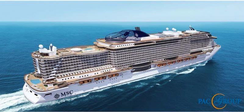 Открыты продажи на новый лайнер MSC Seaview