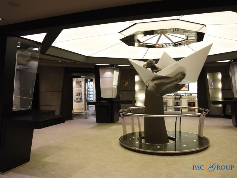 Инновационный лайнер MSC Meraviglia отправился в первый круиз