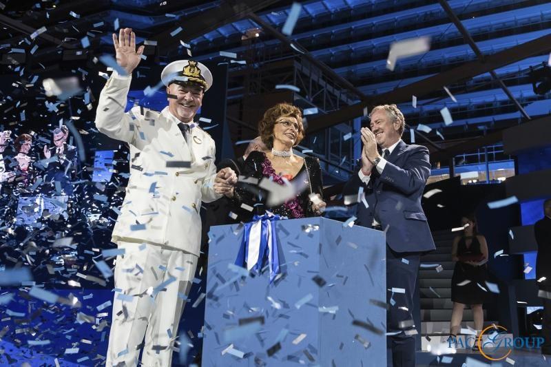 Состоялась официальная церемония наречения лайнера MSC Seaside