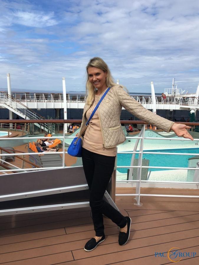 Шип-визит на круизный лайнер MSC Preziosa в Санкт-Петербурге. Фотоотчет