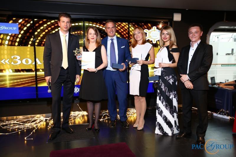 Круизная Премия «Золотой Штурвал – 2018»: объявлены имена победителей