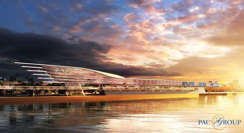 MSC Cruises построит новый круизный терминал в порту Майами