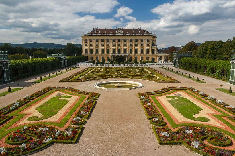 Вена. Дворец Шёнбрунн