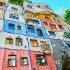 Вена. Дом Хундертвассера