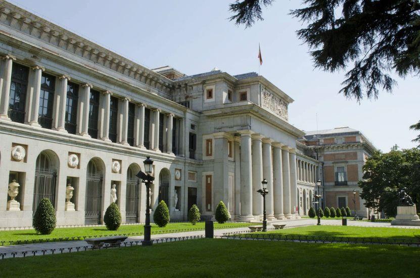 Мадрид. Музей Прадо. Внешний вид