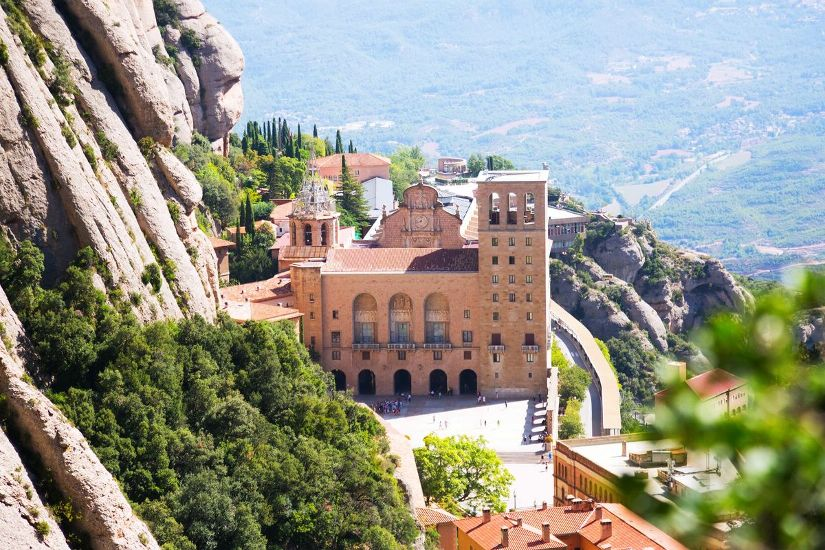 Монастырь Монтсеррат. Вид с горы