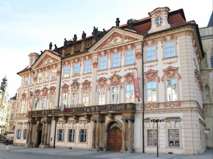 Прага. Пражская национальная галерея