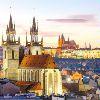 Прага. Костел Девы Марии перед Тыном