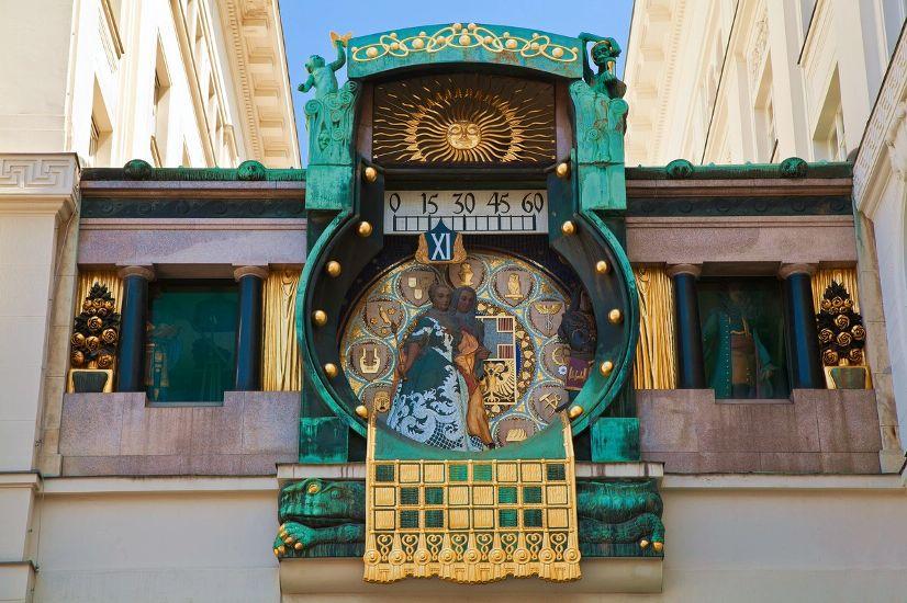 Вена. Часы Анкер