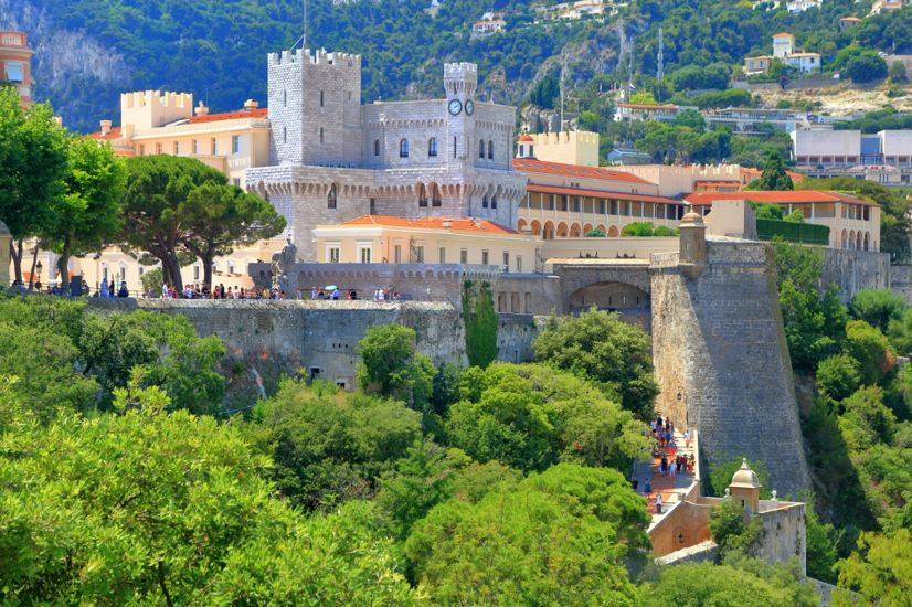Монако. Княжеский дворец