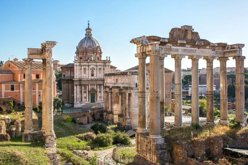 Рим. Форум Цезаря