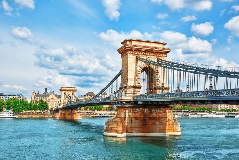 Будапешт. Цепной мост Сеченьи