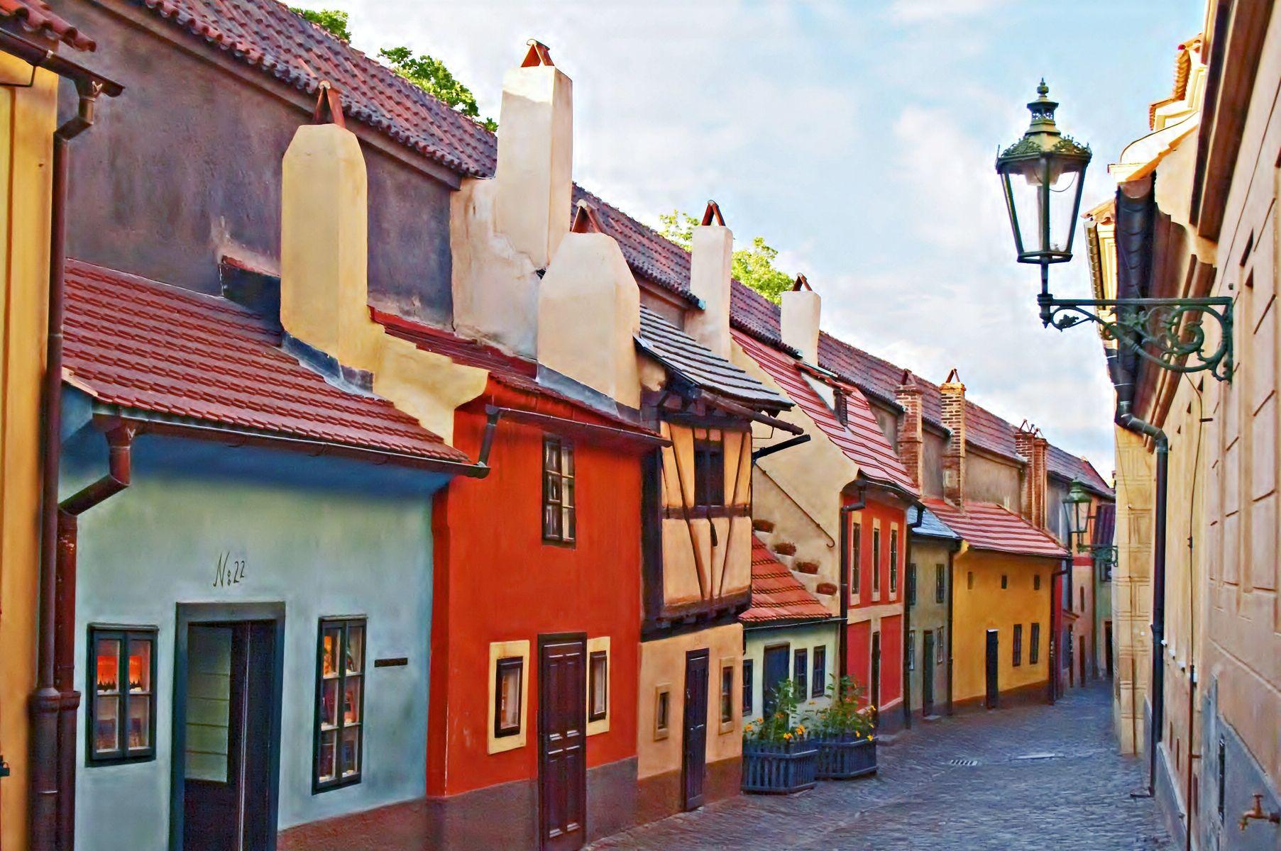 Прага. Золотая улочка