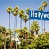 Лос-Анджелес. Голливуд. Указатель на бульваре