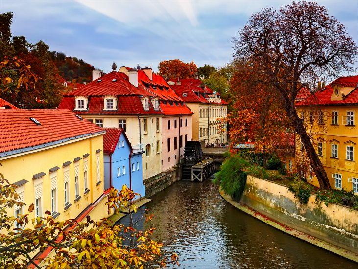 Прага. Парк в старом городе