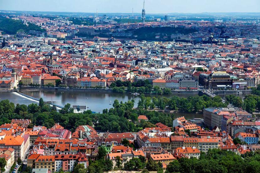 Прага. Панорама