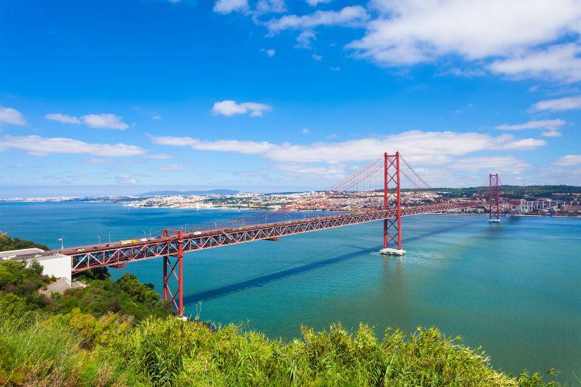 Лиссабон. Мост имени 25 апреля
