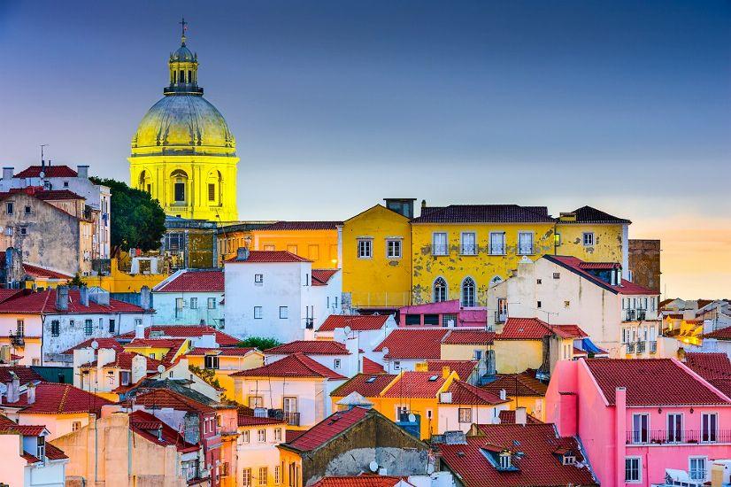 Лиссабон вечером