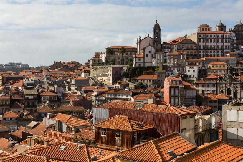 Порту. Старый город