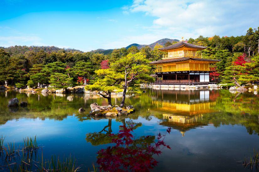 Киото. Храм Кинкаку-дзи (Золотой павильон)