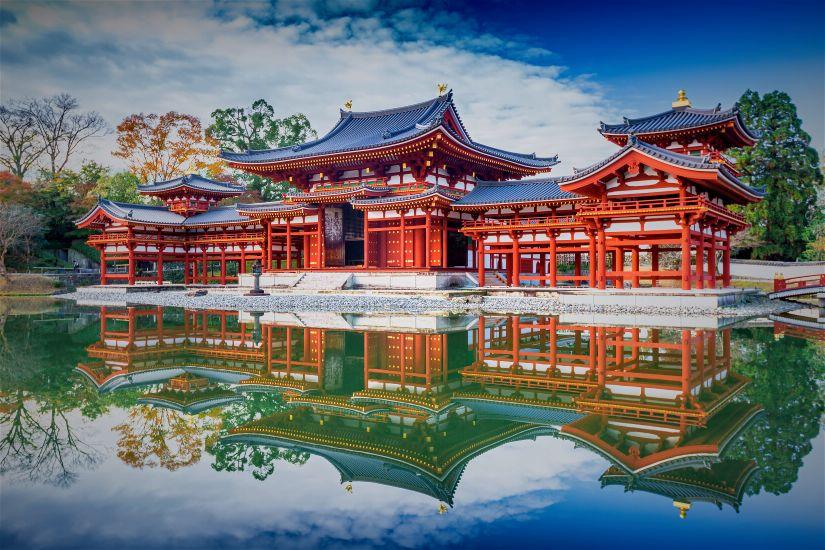 Окрестности Киото, г. Удзи. Храм Бёдо-ин