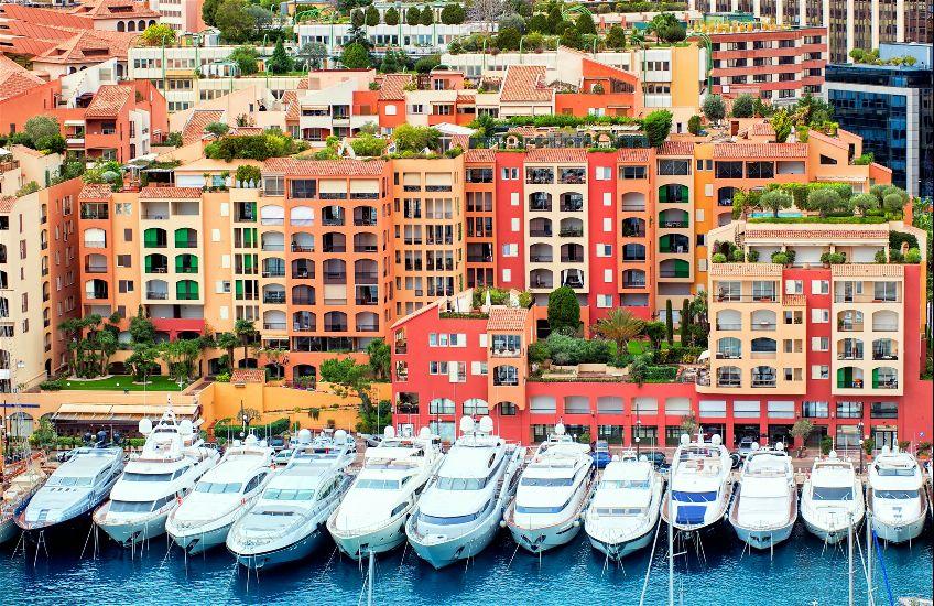 Монако - Монте-Карло. Порт