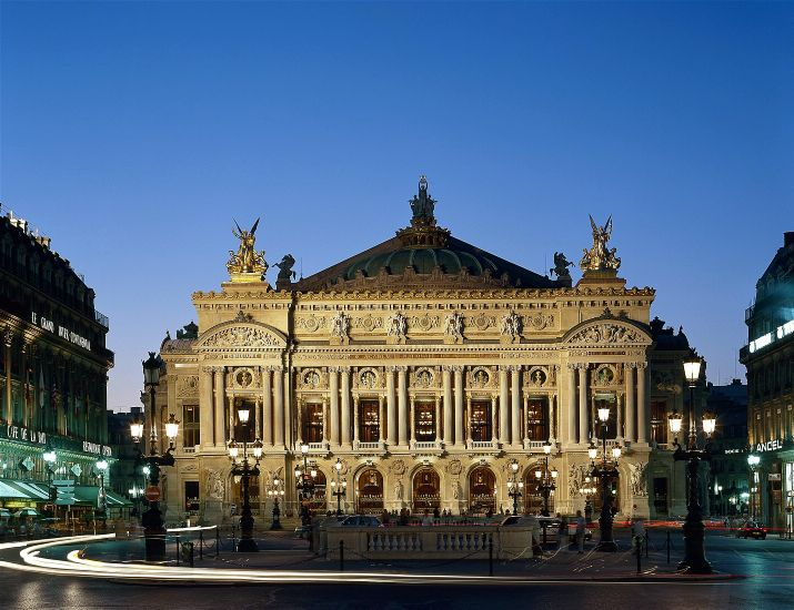 Париж. Опера Гарнье