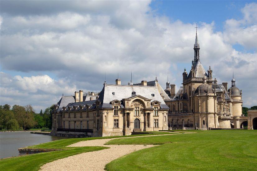 Chateau de Chantilly, Chantilly, France без смс