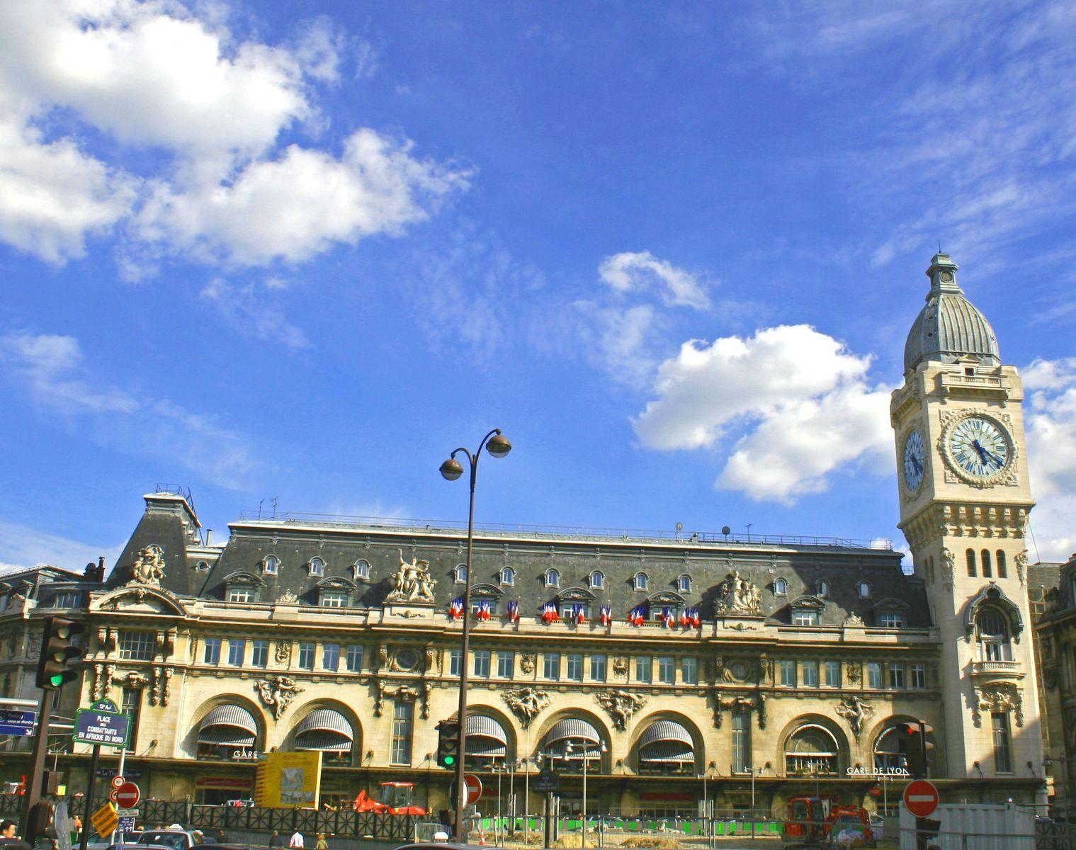 Париж. Лионский вокзал. Округ 12 – Берси, Лионский вокзал