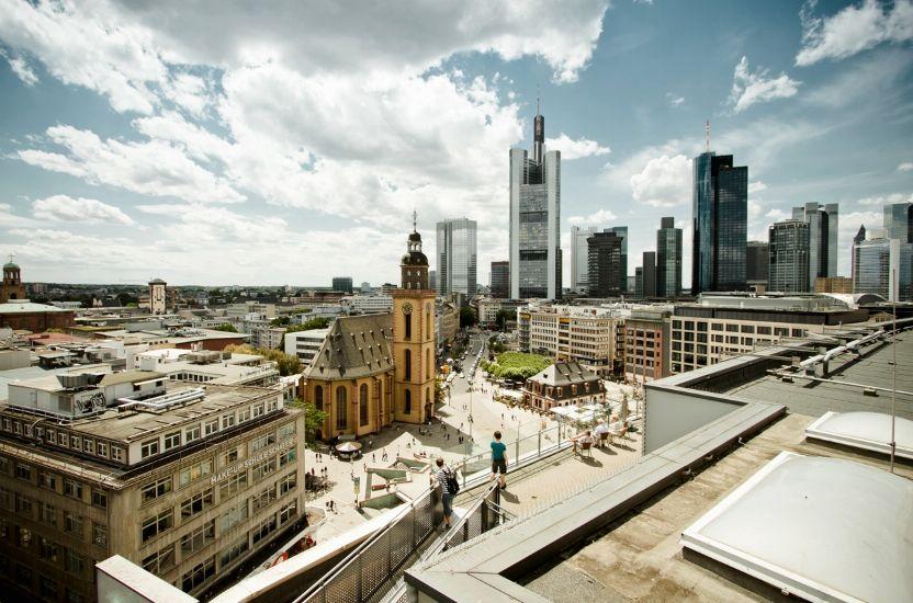 Франкфурт-на-Майне. Небоскребы