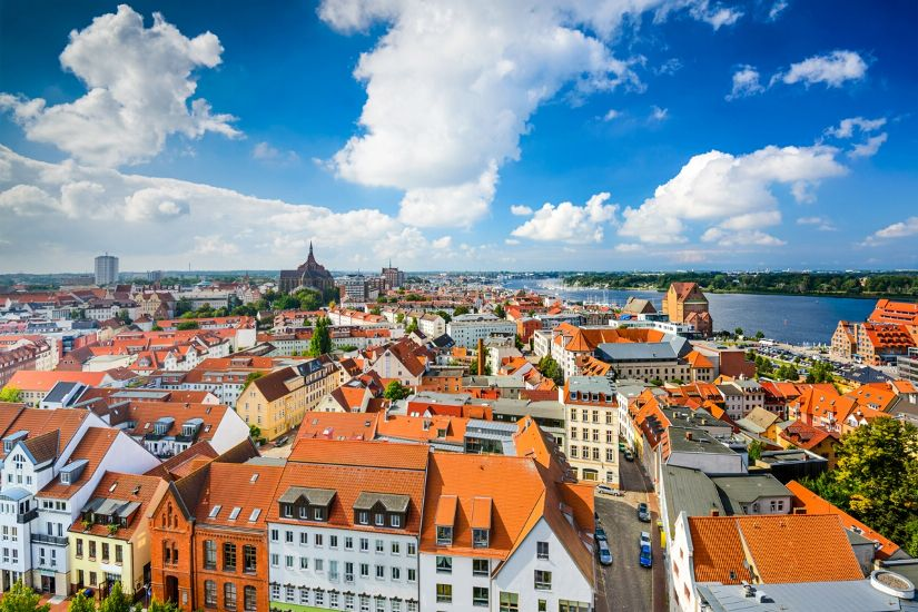 фото город росток германия