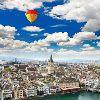 Цюрих. Панорама города