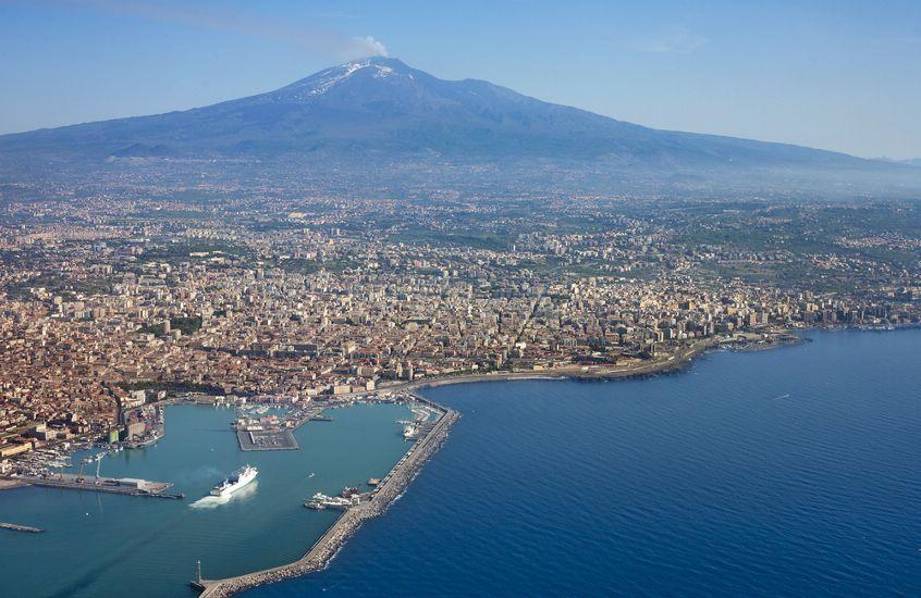 Катания. остров Сицилия